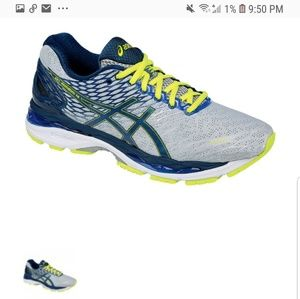 Asics Shoes - ASICS GEL NIMBUS 18 MENS RUNNING SHOES